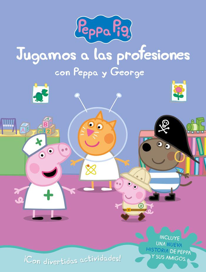 Jugando a las profesiones con peppa y george peppa pig