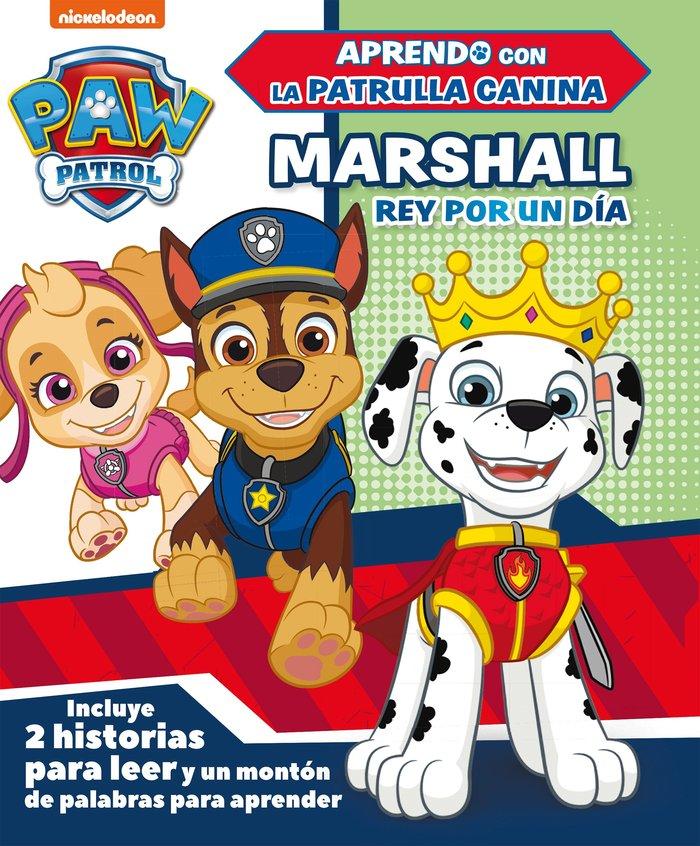 Marshall, rey por un dia paw patrol patrulla canina