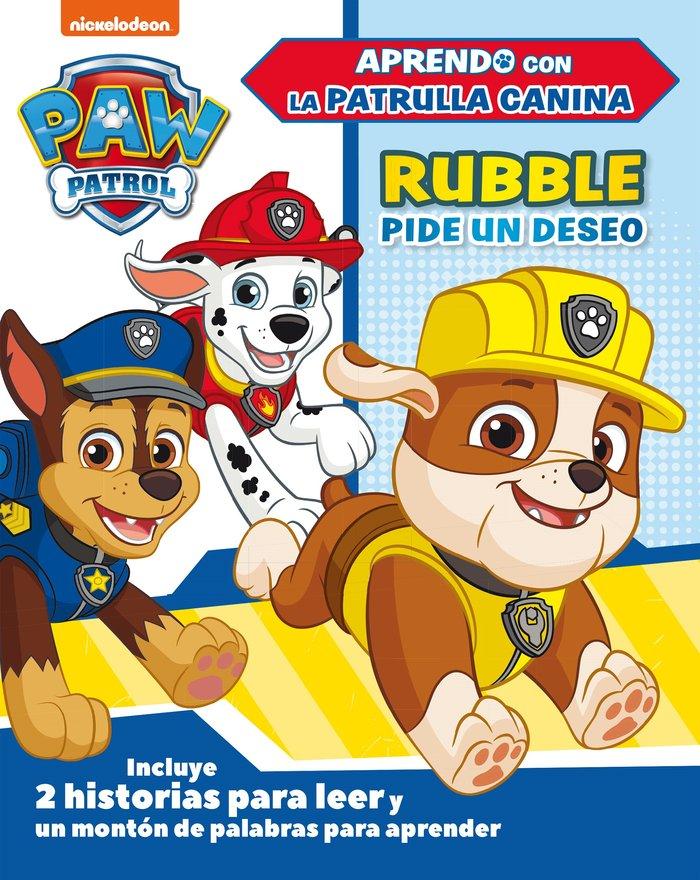 Rubble pide un deseo paw patrol patrulla canina