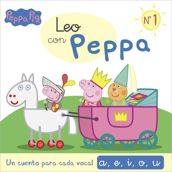Un cuento para cada vocal a e i o u leo con peppa pig 1