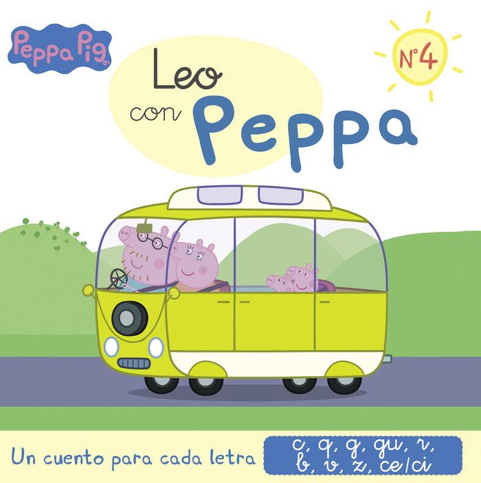 Un cuento para cada letra:c,q,g,gu,r leo con peppa 4