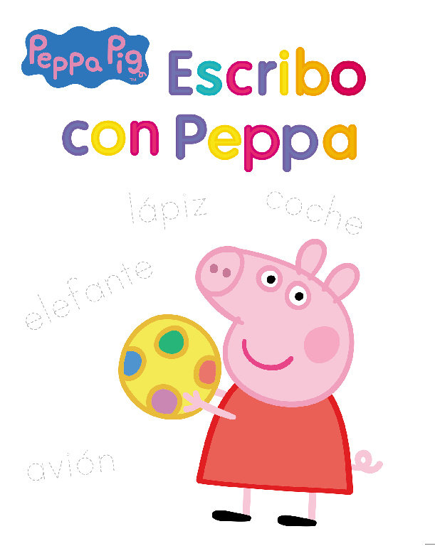 Escribo con peppa (peppa pig. actividades)