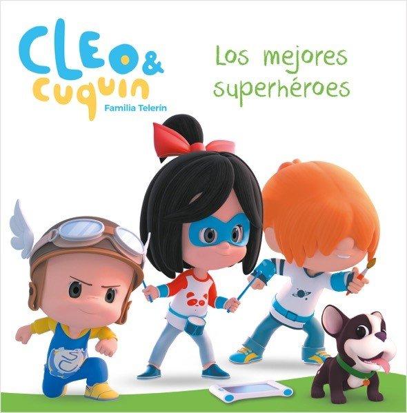 Mejores superheroes cleo y cuquin primeras lecturas,los
