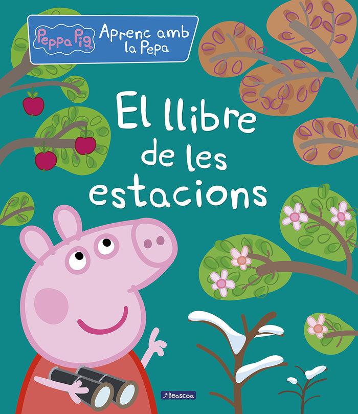 Llibre de les estacions - aprenc amb la porqueta pepa,el