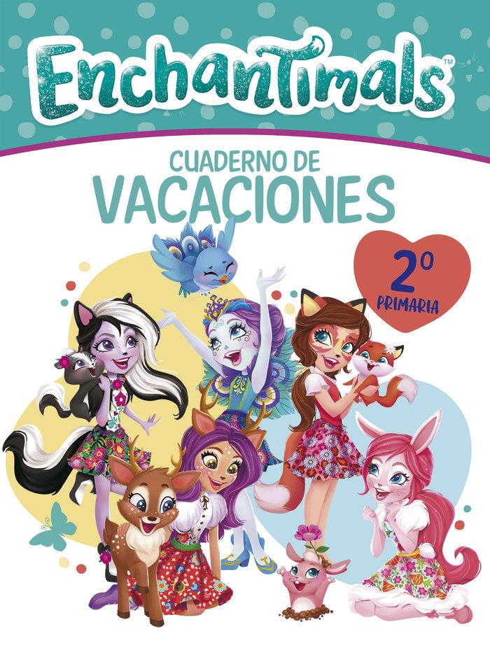 Cuaderno vacaciones enchantimals 7 años (enchantimals. activ
