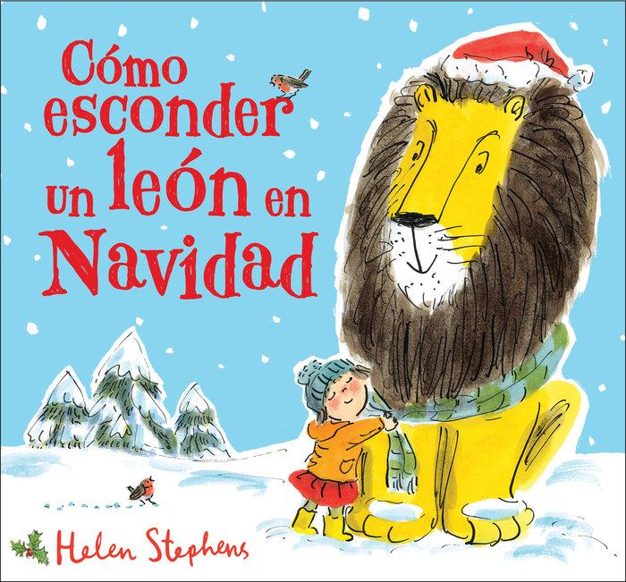 Como esconder un leon en navidad
