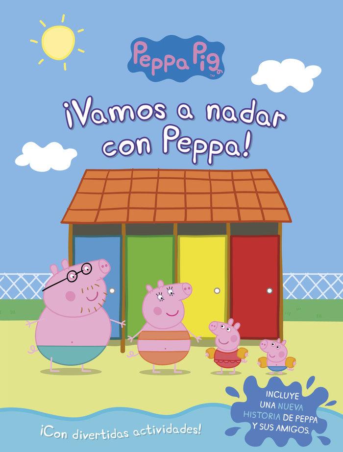 Vamos a nadar con peppa peppa pig activida
