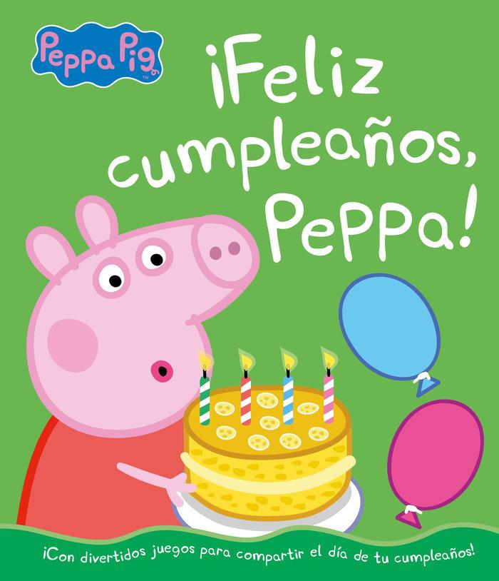 Feliz cumpleaños peppa un cuento de peppa