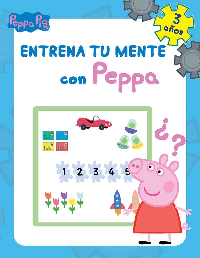 Entrena tu mente con peppa 3 años peppa pig cuaderno activi