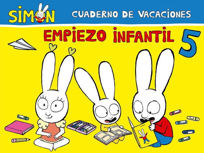 Cuaderno de vacaciones empiezo infantil 5
