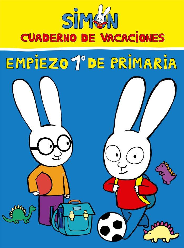 Cuaderno de vacaciones preparo 1º primaria