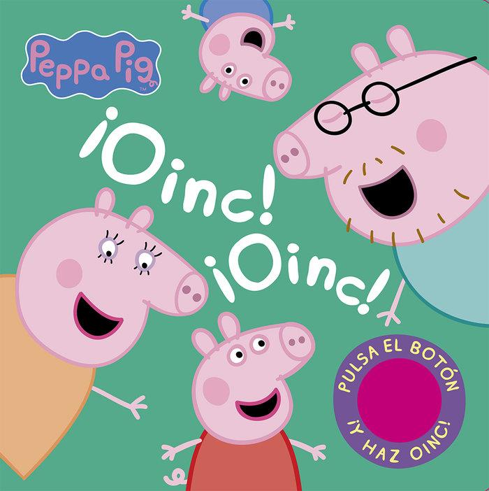 Oinc oinc libro con sonidos peppa pig