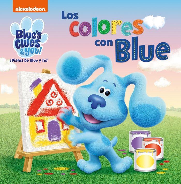 Los colores con blue las pistas de blue y