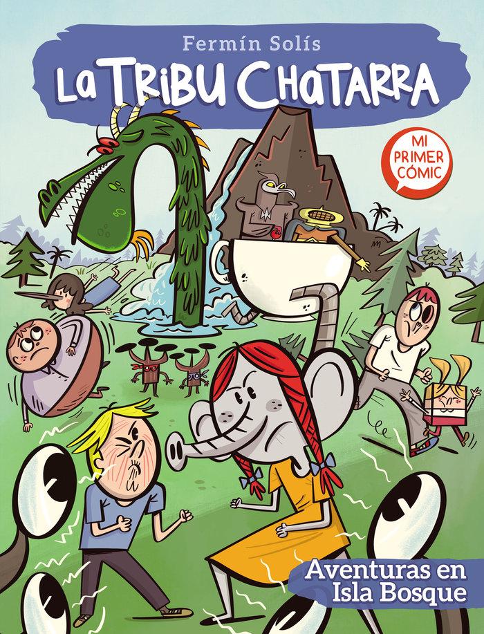 Aventuras en isla bosque la tribu chatarra 2
