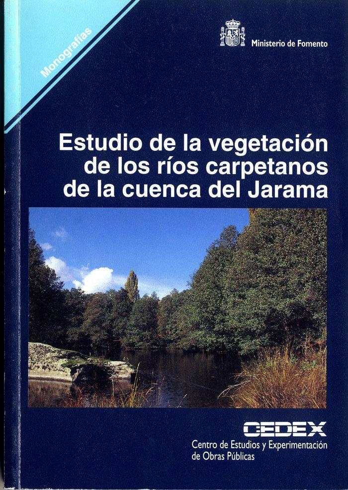 Estudio de la vegetacion de los rios carpetanos en la cuenca