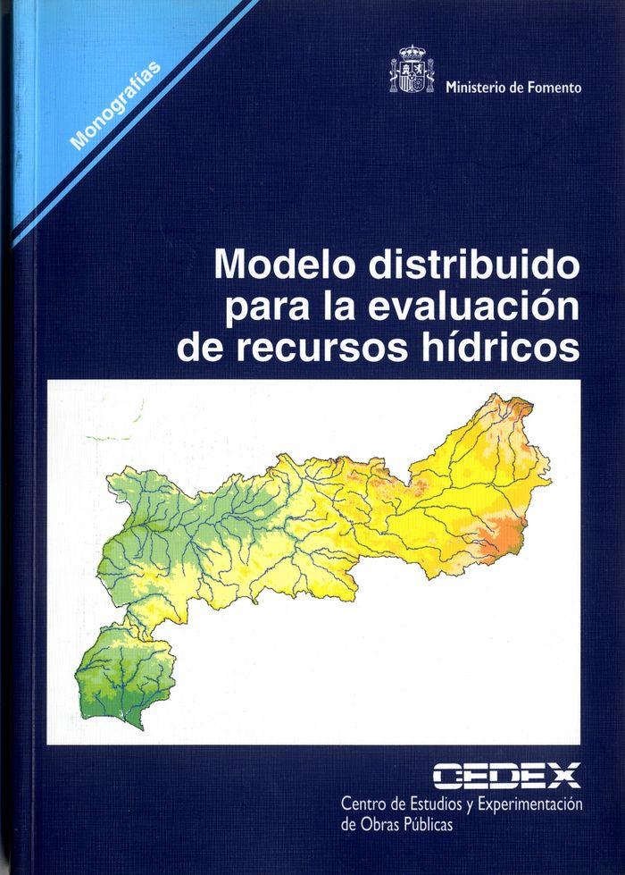 Modelo distribuido para la evaluacion de recursos hidricos.