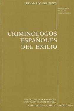 Criminologos españoles en el exilio