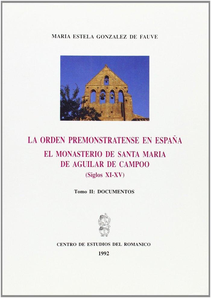 Orden premonstratense en españa. el monasterio de santa mari