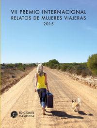 Vii premio relatos mujeres viajeras