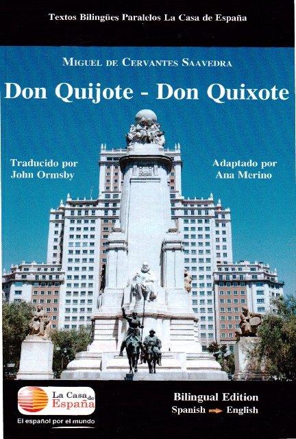 Don quijote don quixote bilingue