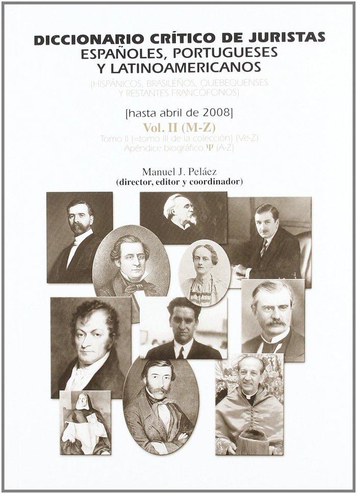 (ii) diccionario critico de juristas espaÑoles, portugueses