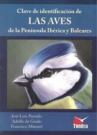 Clave identificacion aves peninsula iberica y baleares