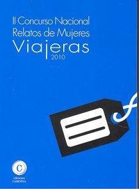 Concurso nacional relatos de mujeres viajeras 2010