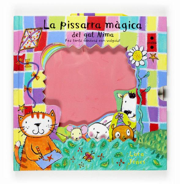 Pissarra magica del gat mima,la