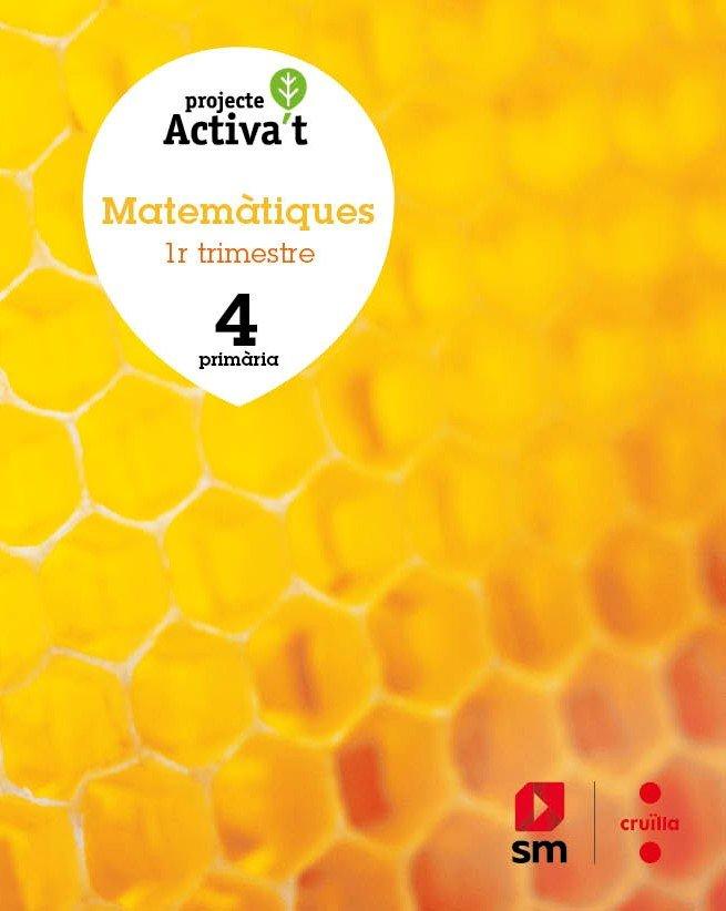 Matematiques. 4 primaria. activa't