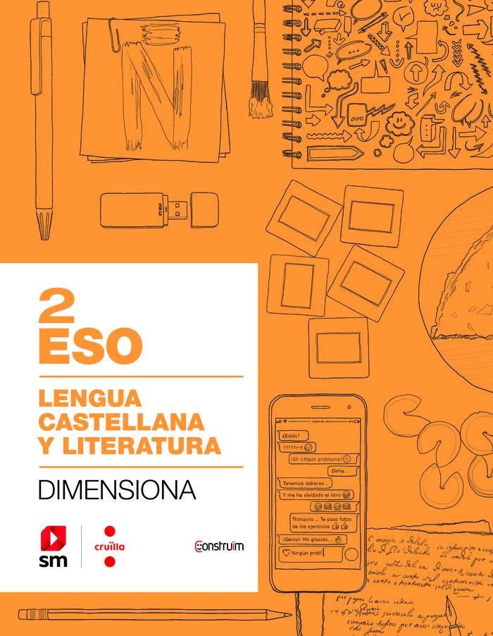 Cuaderno lengua castellana 2ºeso construÏm 19