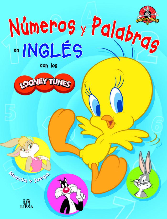Numeros y palabras en ingles con los looney tunes