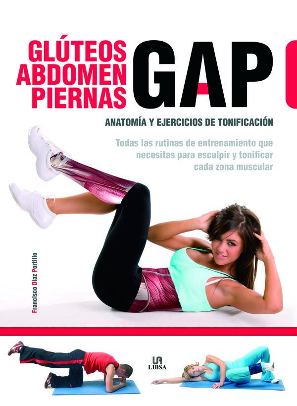Gap. gluteos, abdomen y piernas