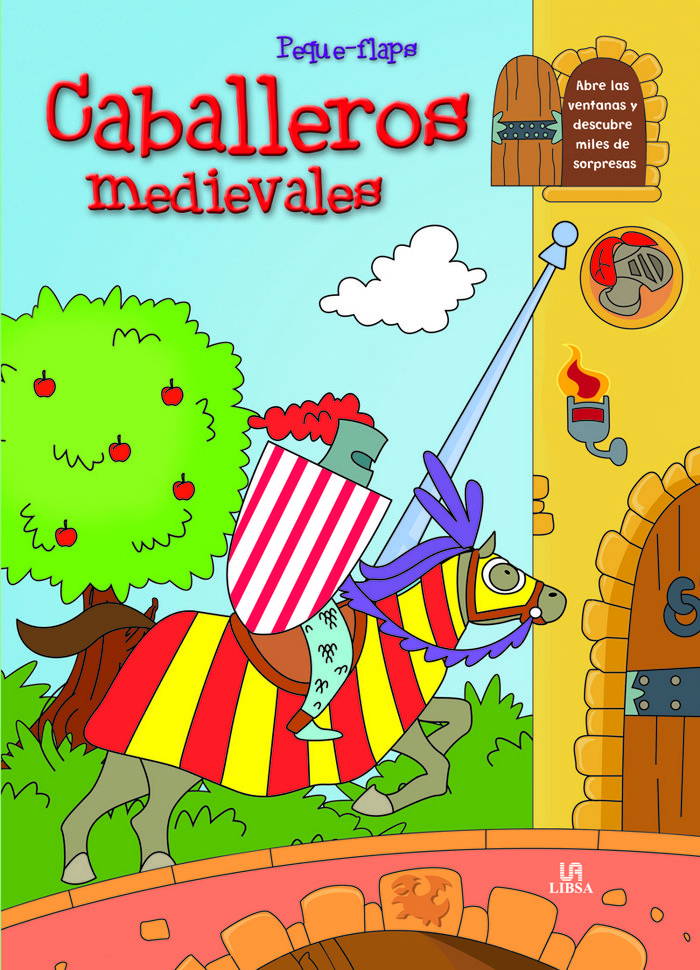 Caballeros medievales  peque flaps