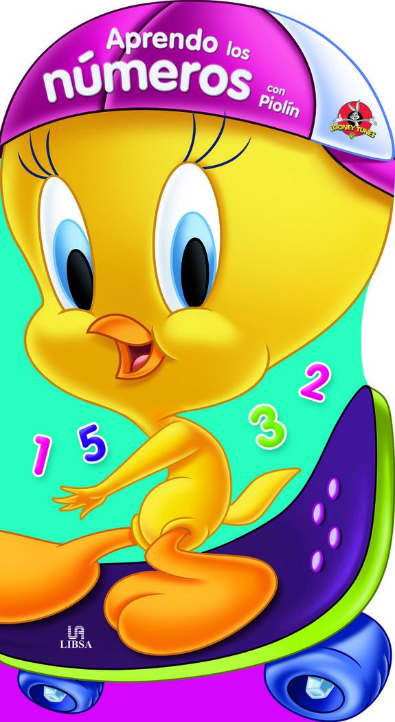 Aprendo los numeros con piolin