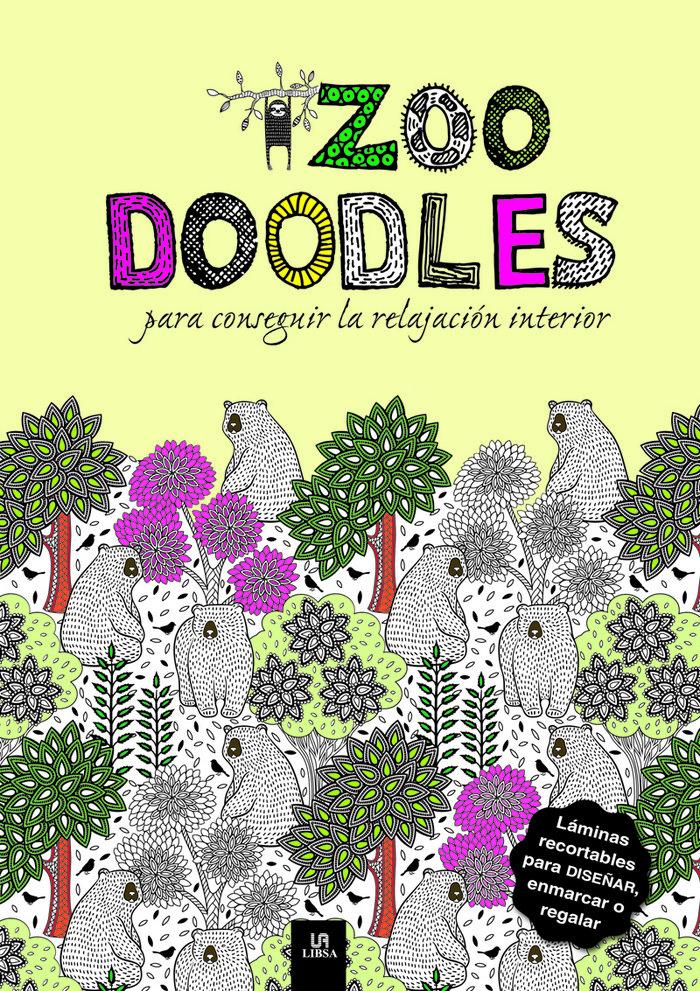 Zoo doodles para conseguir la relajacion interior