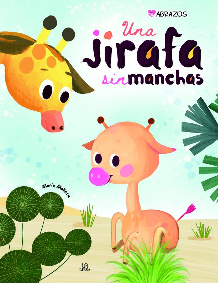 Una jirafa sin manchas