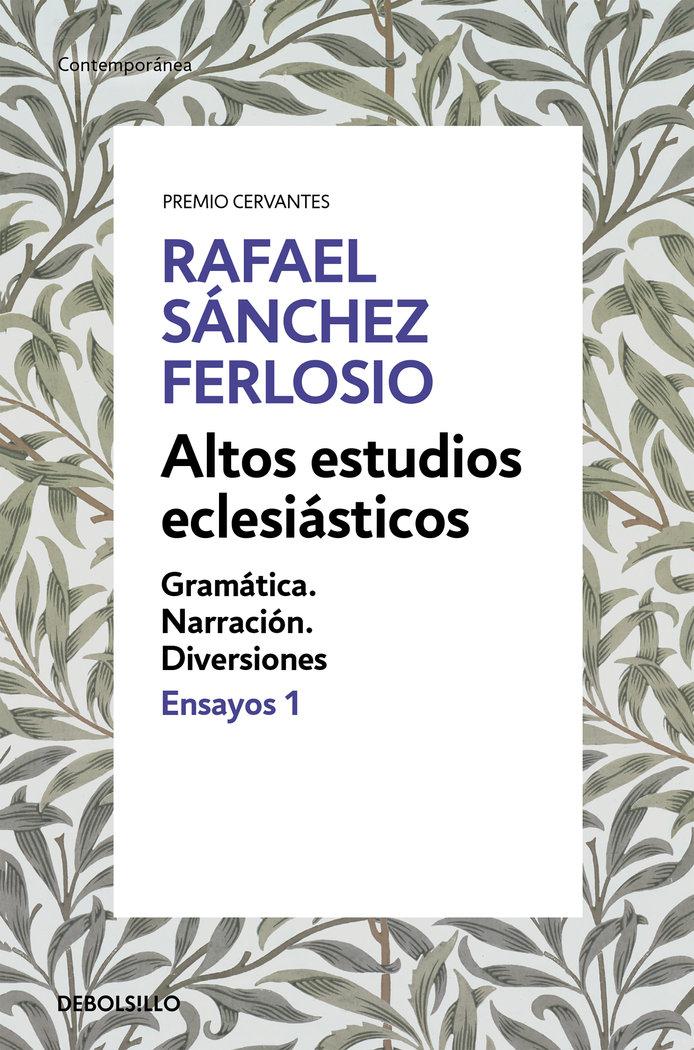Altos estudios eclesiasticos (ensayos 1)