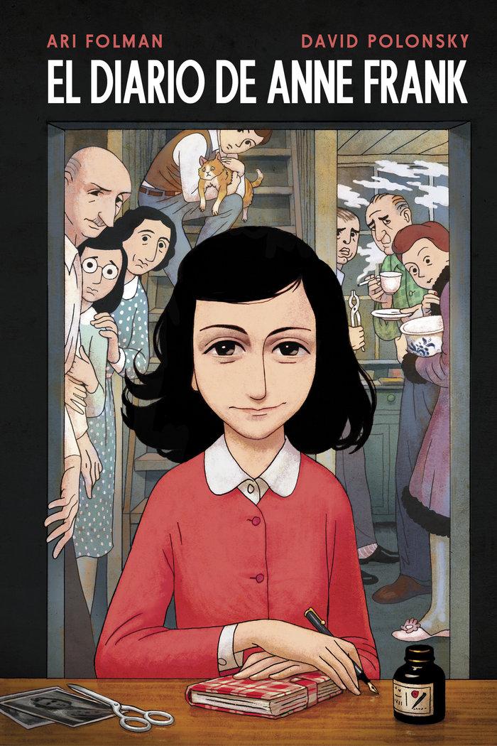 El diario de anne frank novela grafica
