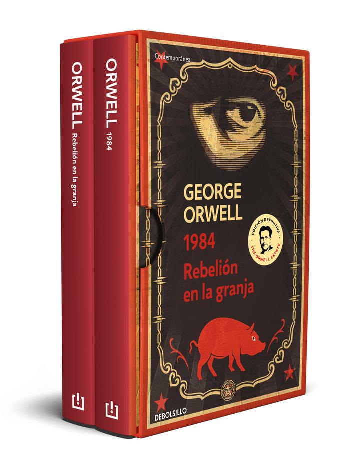 George orwell pack con las ediciones defi
