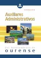 Auxiliares administ.ayunt.ourense temario
