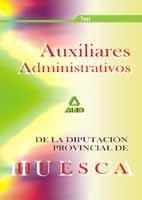 Auxiliares admin.diput.provincial huesca test