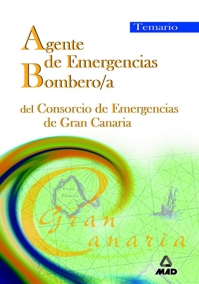 Agente emergen.bombero/a consorc.emergenc.g.canaria temario