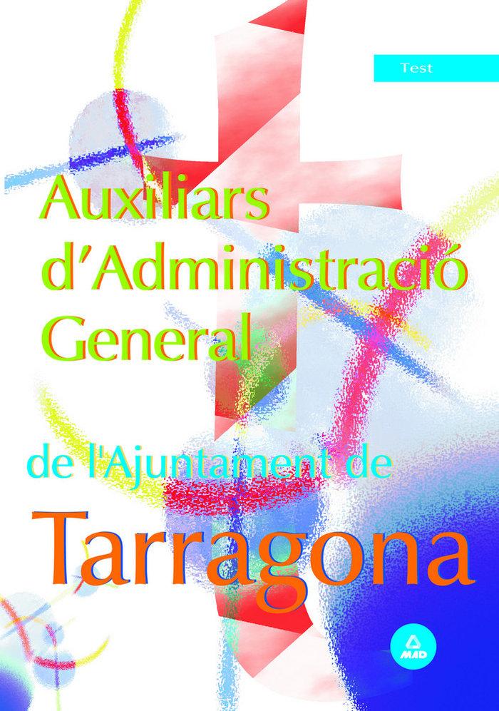 Auxiliars d admin.ajuntament tarragona test