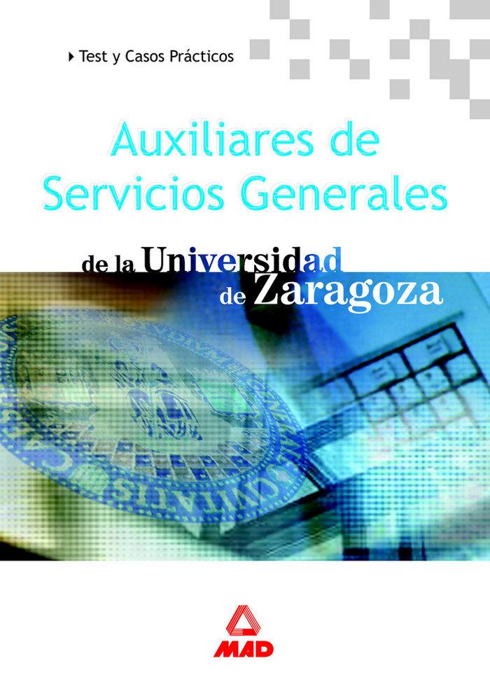 Auxiliares servic.gener.univ.zaragoza test casos practicos