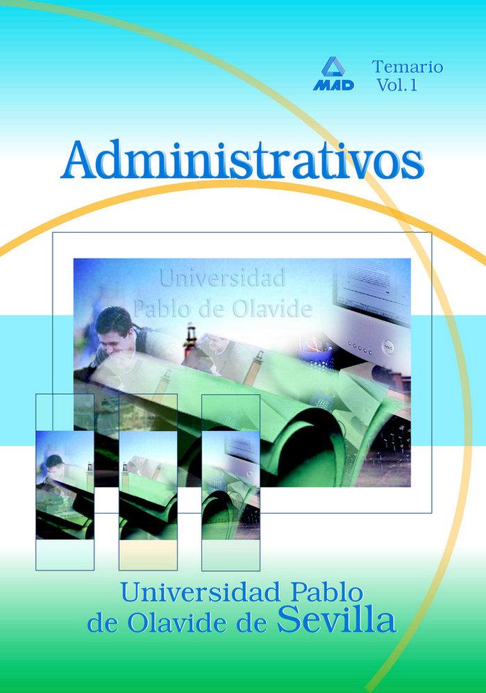 Administrativo u.pablo olavide i temario