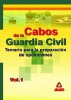 Cabos guardia civil i temario