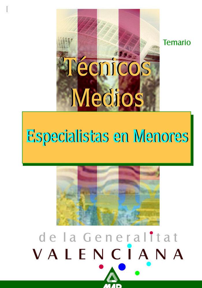 Tecnicos especial.menores g.valenciana temario