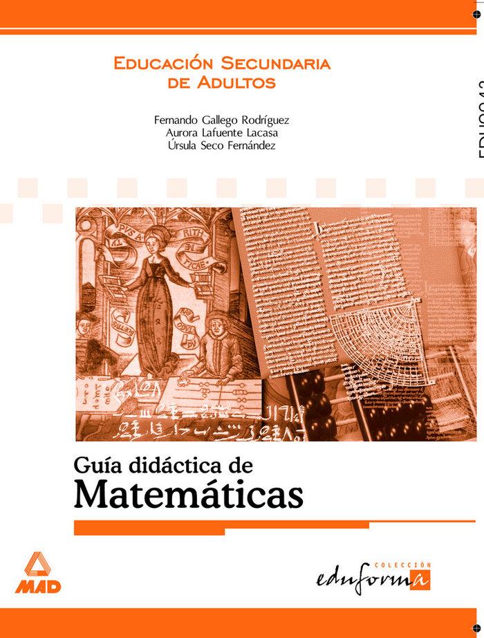Matematicas guia didactica