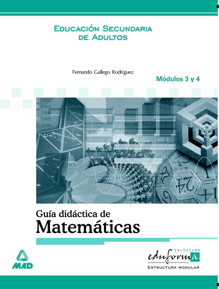 Matematica estructura modular mod.3/4 guia