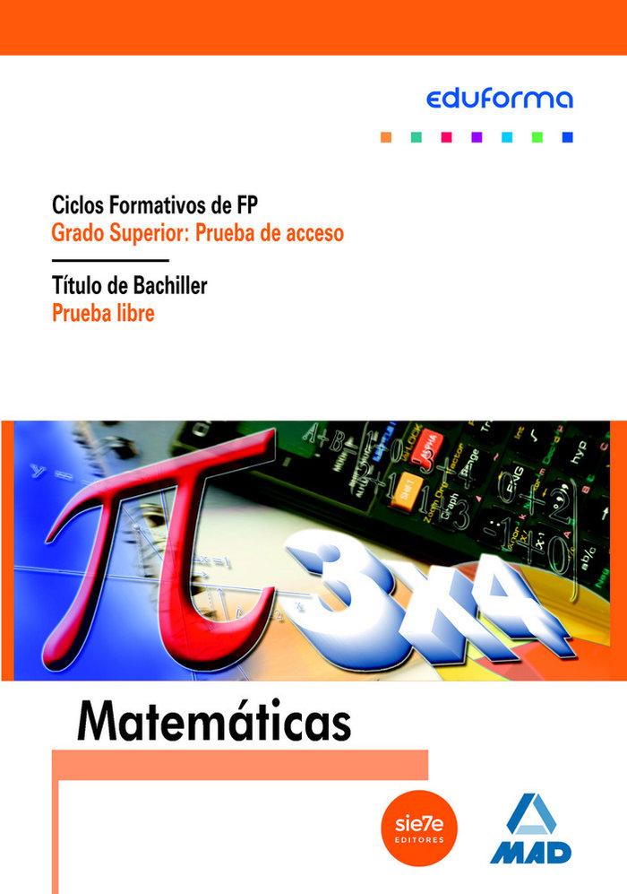 Matematicas pruebas acceso cf gs nb prueba libre